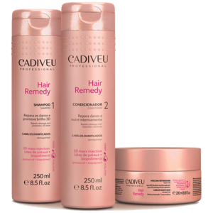 CADIVEU HAIR REMEDY Kit Home Care