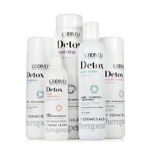 KIT DE SOIN CHEVEUX - DETOX THERAPEUTIC - CADIVEU PROFESSIONAL