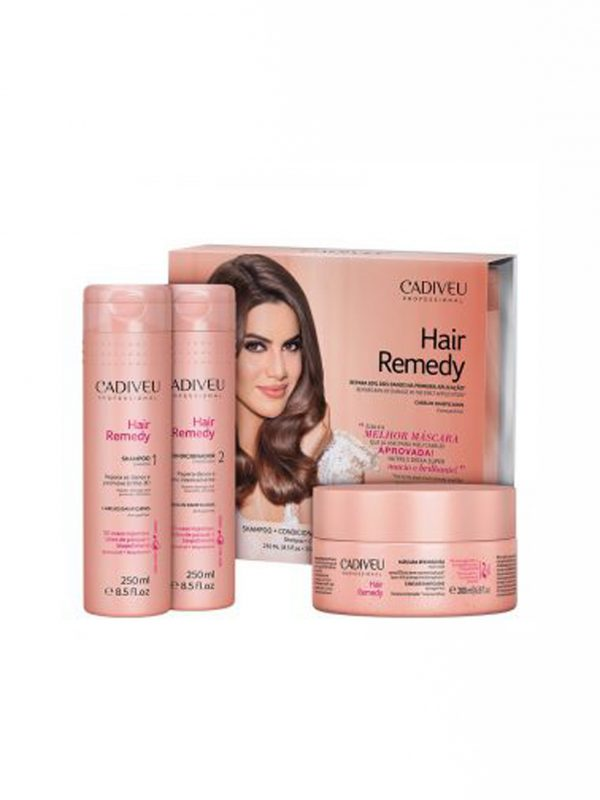 CADIVEU HAIR REMEDY Kit Home Care