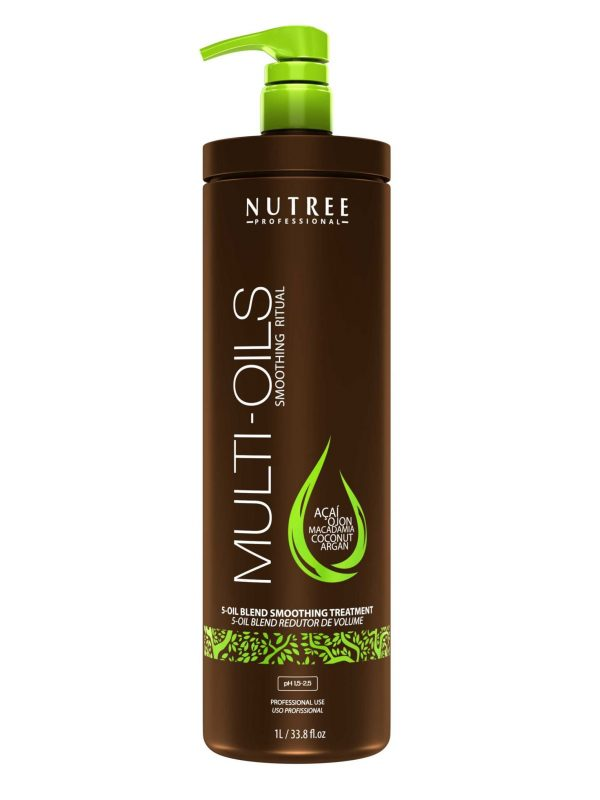 Nutree Multi Oils Smoothing Ritual – Nutritive masque 1L