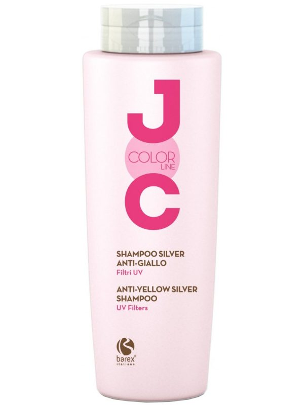 Shampoing silver anti jaune filtres UV JOC COLOR LINE BAREX 250 ml