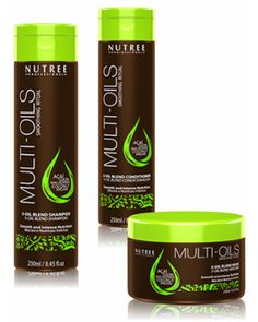 Nutree Multi Oils Smoothing Ritual – Oil blend masque 240ml
