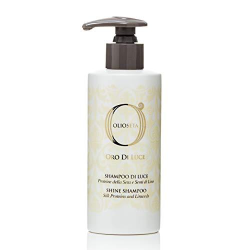 Shampoing ORO DI LUCE sans sulfate à l'huile d'argan et huile de lins 750ml